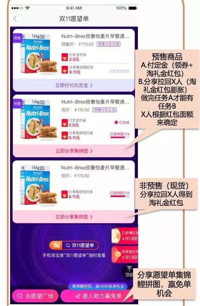 """019双11淘客心愿清单玩法详解"""""""